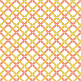 Geometric abstract pink and golden pattern. Geometric modern ornament. Seamless modern background - 239175344