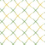 Geometric abstract pattern. Geometric modern green and golden ornament. Seamless modern background - 239176551