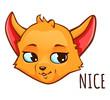 Cartoon fox - nice