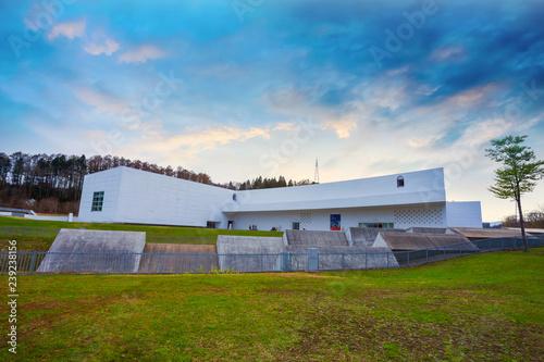 The Aomori Museum of Art in Aomori, Japan © coward_lion