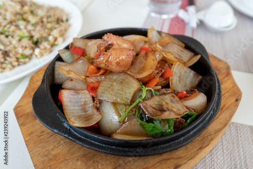 Hong Kong style chicken cuisine