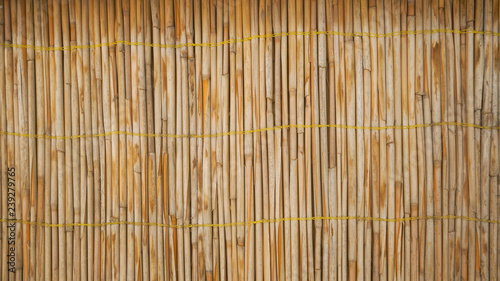 Bamboo wall decorative background