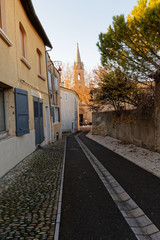 ruelle village © Pictures news
