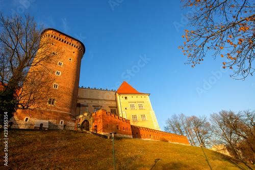 obraz PCV Wawel Castle in Krakow, Poland.