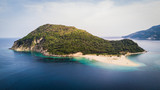 Aerial view of the Turtle Island in Zakynthos, Greece - 239387364