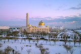 Мечеть зимой