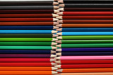 Colored pencils background © 5second