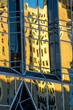 Abstract reflections of buildings in windows at PPG Place, Pittsburgh.