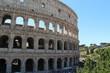 Quadro colosseum in rome italy