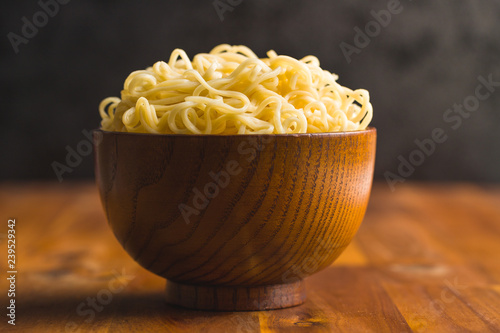 Cooked chinese instant noodles. © Jiri Hera
