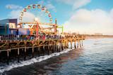 la Fameuse plage de Santa Monica et son ponton © Image'in
