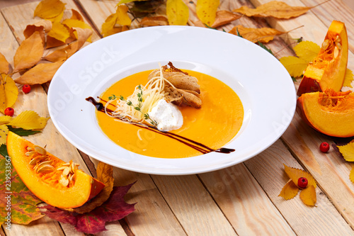 mata magnetyczna pumpkin cream soup
