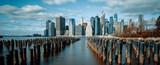 Skyline New York City Downtown Manhattan