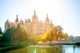 Schweriner Schloss am Schweriner See, Schwerin, Deutschland