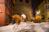 Weihnachtsmarkt in Rottweil / mit Schnee