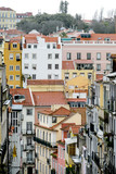 view of the city of lisbon portugal, in Lisbon Capital City of Portugal © underworld
