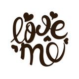 Love me calligraphy.