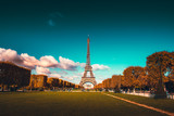Eiffel tower viewed from distance © XtravaganT