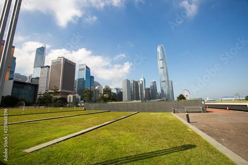 Beautiful view upon Hong Kong