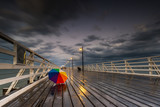 Shorncliffe pier at sunset