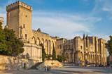 Papstpalast Avignon Provence Südfrankreich