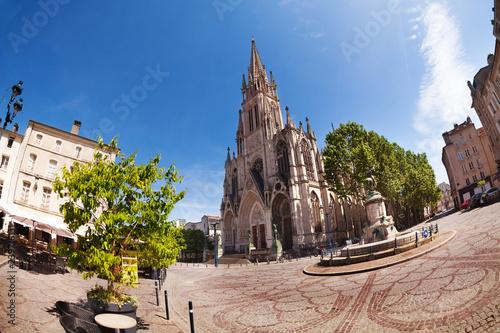 Basilique Saint-Epvre cathedral in Nancy, France
