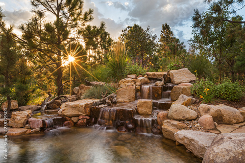 Amazing Cascading Water Feature