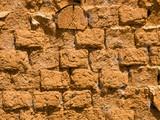 mud bricks, spain