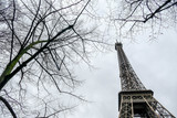 Eiffel Tower, Photo image a Beautiful panoramic view of Paris Metropolitan City © underworld