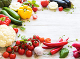 Different raw vegetables - 239795313