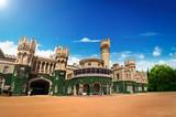 Garden and Bangalore king palace