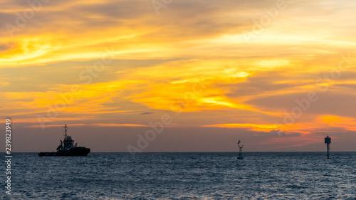 obraz lub plakat Sunset Background