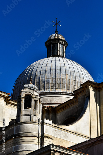 dome of the cathedral in cadiz, digital photo picture as a background - 239826924