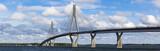 Panorama of Raippaluoto bridge in Finland
