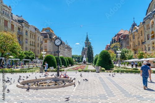 beautiful city in Romania - Timisoara