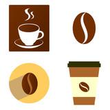 Coffee icon vector illustration