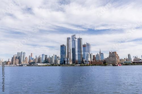 Scenic View Of New York Buildings And Atlantic Ocean Usa Buy