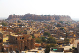 Jaisalmer city in Rajasthan state, India - 240001596