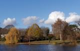 Daumesnil lake in Paris city © hassan bensliman