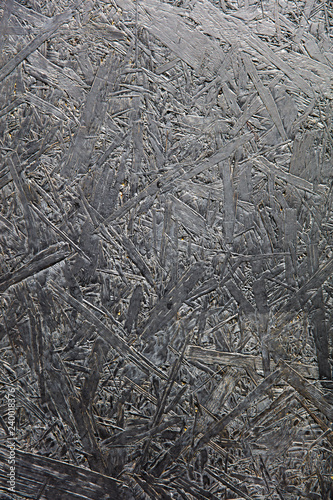 Detail abstract backdrop of dark plywood texture - 240018376