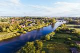 Przemyslaw Szkarpawa River Aerial