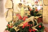 Dekoracja Świąt Bożego Narodzenia, renifery.