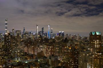 Winter Midtown Cityscape Cloudscape © Scott