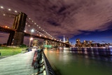 Brooklyn Bridge by night © dade72
