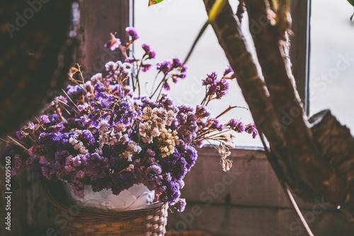 canvas print picture Bouquet de fleurs séchées