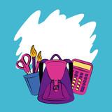 School supplies cartoons - 240130982