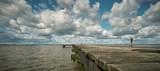 Badesteg an der Nordsee - Jadebusen