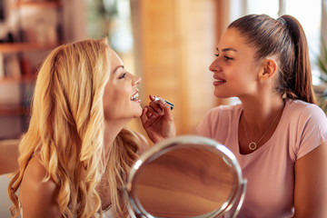 Make up, friendship and fun concept © ivanko80