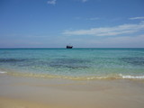 playa bonita y tranquila
