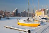 Pomorskie region, Poland - December, 2010: Gdansk city